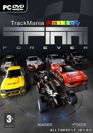 TrackMania United Forever Star Edition  скачать торрент файл