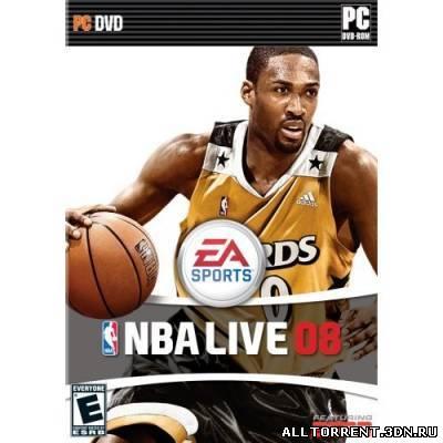 Скачать игру NBA Live 08 для PC