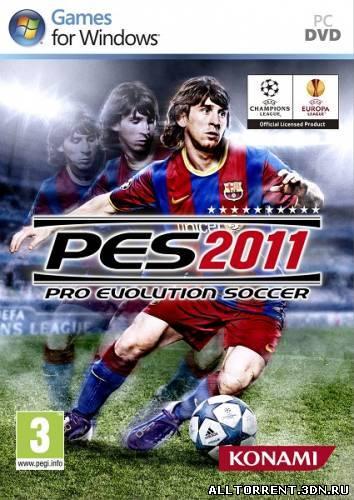PES 2011 скачать через torrent