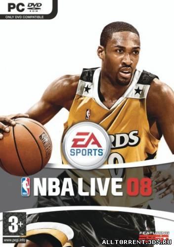 Скачать игру NBA Live 2008 через торрент