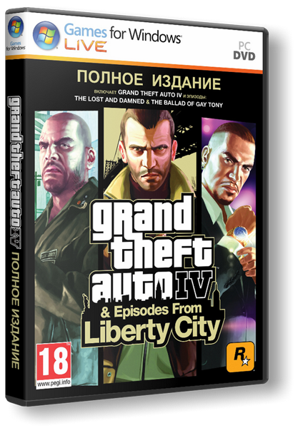 Скачать GTA 4 / Grand Theft Auto IV через torrent